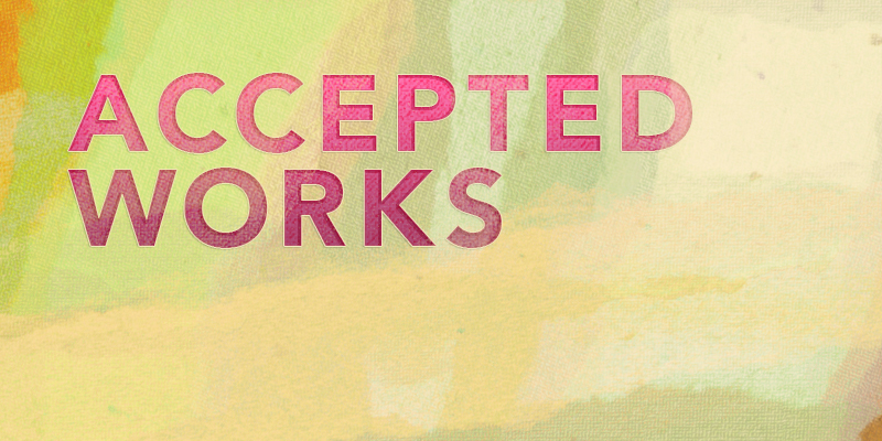 LIST OF ACCEPTED WORKS