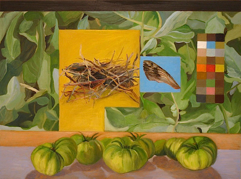 TCole_Plotting-the-Home_2009_24x36_Oil