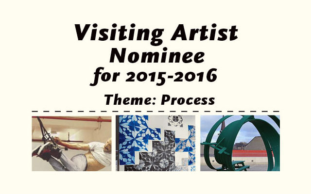 Visiting Artist Nominee for 2015-16