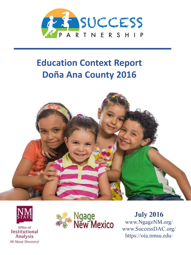 Education Context Report Doña Ana County 2016
