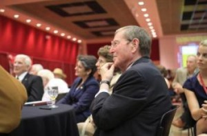 Image of Pete Domenici during 2008 Domenici Public Policy Conference