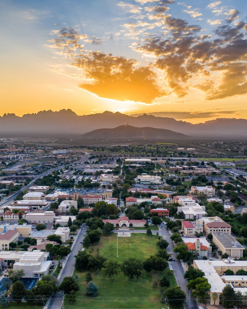View of NMSU Campus