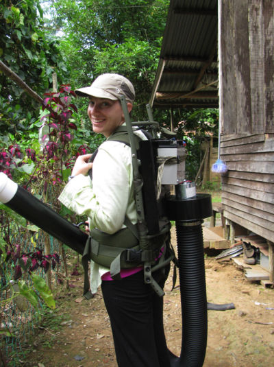 New Mexico State University Department of Biology doctorate student Katherine Young received the 2015 Fulbright Fellowship to study dengue virus in Borneo (NMSU courtesy photo) NOV15