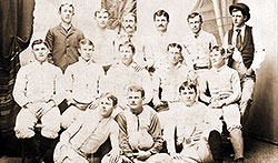 First Aggie football team