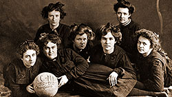First Women's basketball team photo